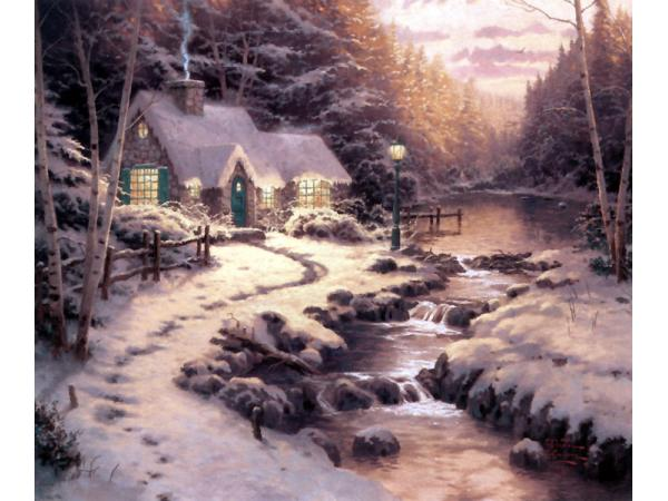 Evening Glow Painting By Thomas Kinkade