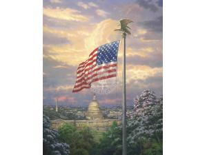 America's Pride Painting by Thomas Kinkade