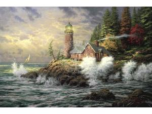 Courage Painting by Thomas Kinkade