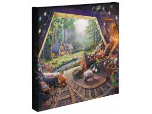 Snow White & 7 Dwarfs Gallery Wrapped Canvas