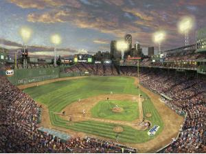 Thomas Kinkade Fenway Park Painting Limited Edition Canvas