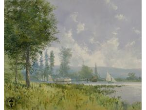 Thomas Kinkade/Robert Girrard Sailing Day