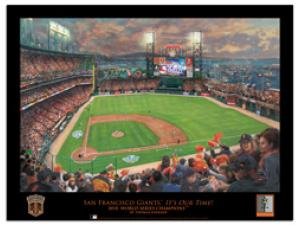San Francisco Giants, It's our Time 2010 World Series - Poster