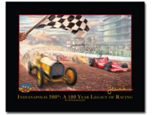 Thomas Kinkade A Century of Racing Indianapolis 500 8.5