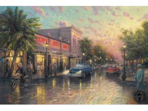 Key West Painting by Thomas Kinkade