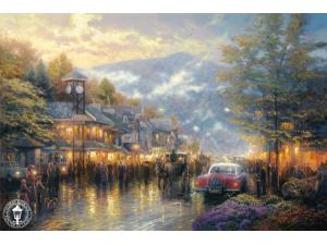 Mountain Memories Painting by Thomas Kinkade