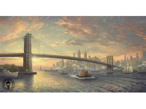 Spirit of New York Painting by Thomas Kinkade