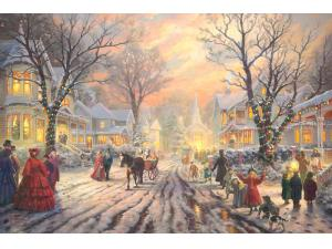 A Victorian Christmas Carol Limited Edition Canvas