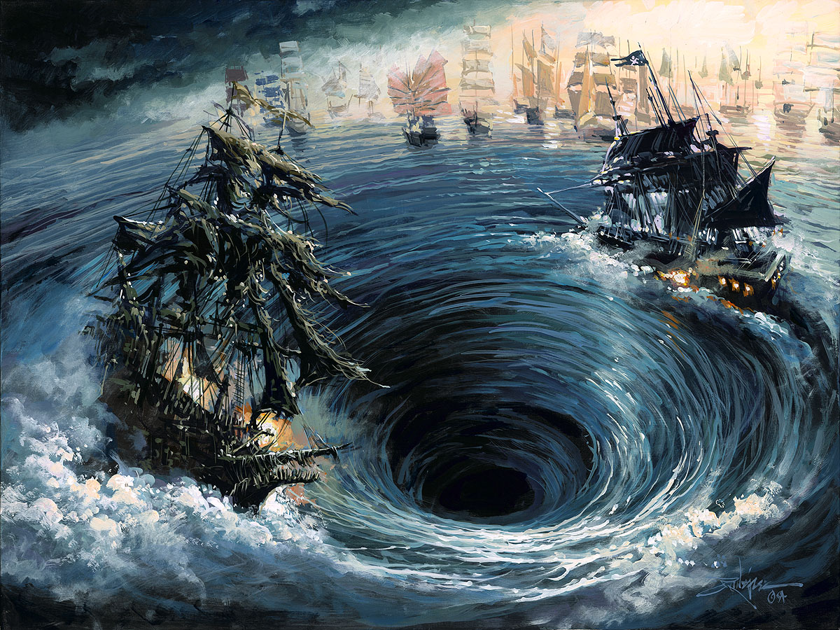Battle of Calypso's Maelstrom