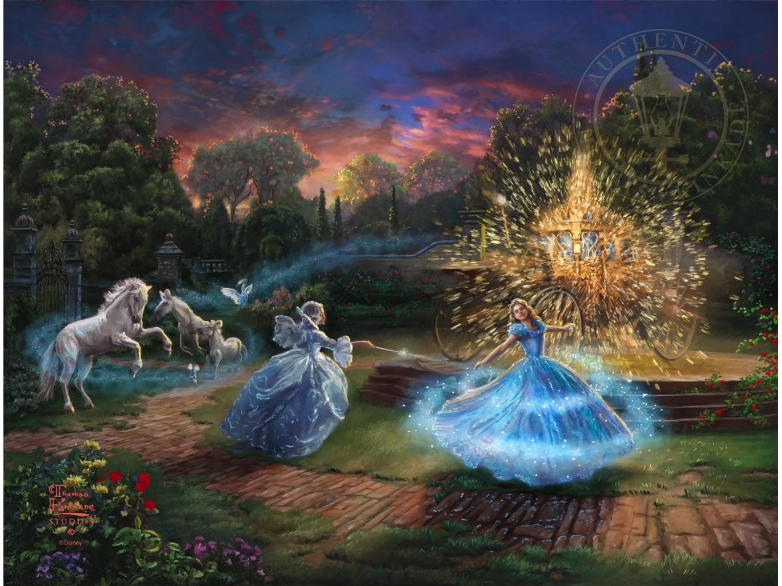 """Cinderella """"Wishes Granted"""" Limited Edition Canvas"""