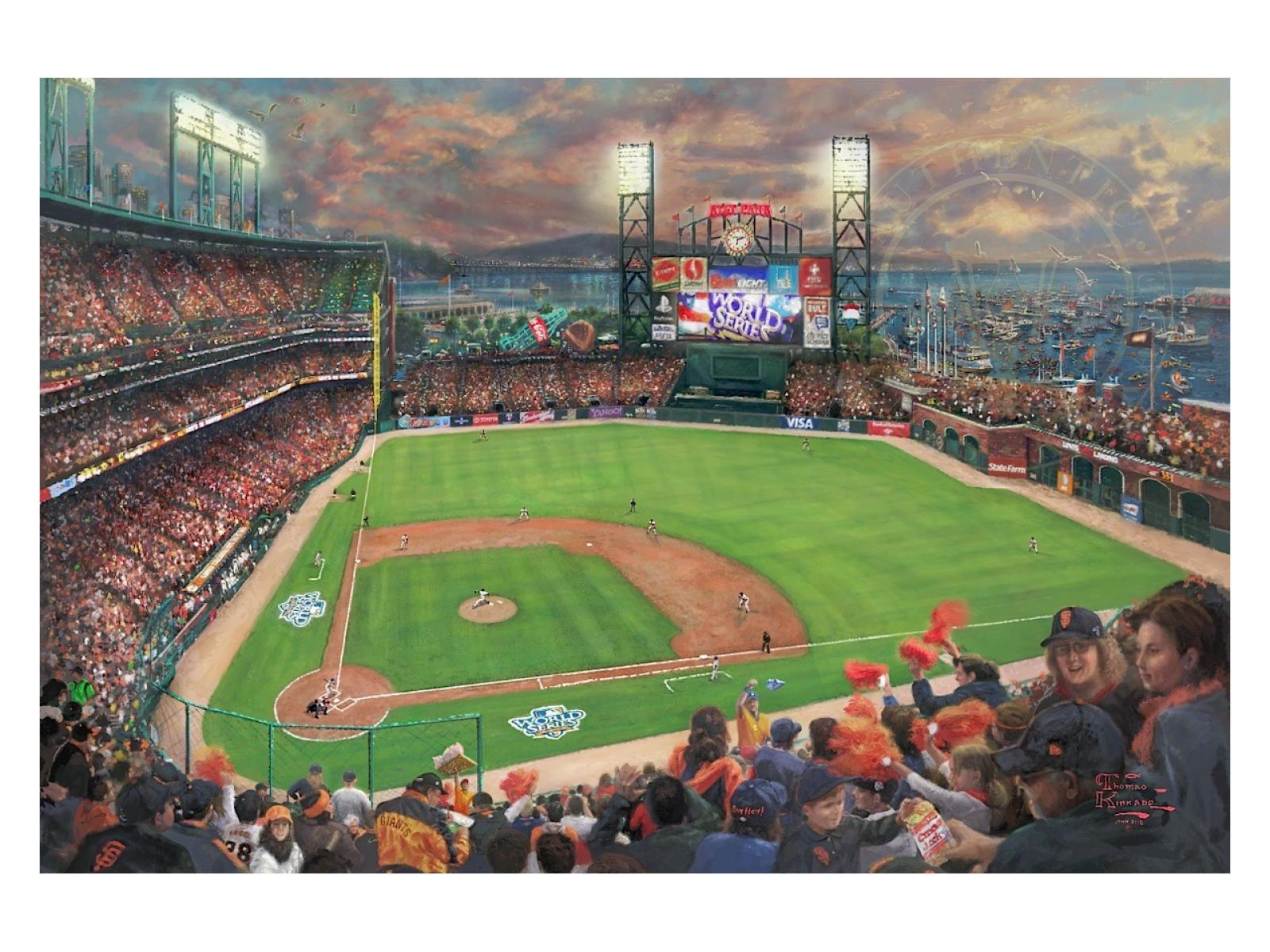 San Francisco Giants World Series Limited Edition Canvas