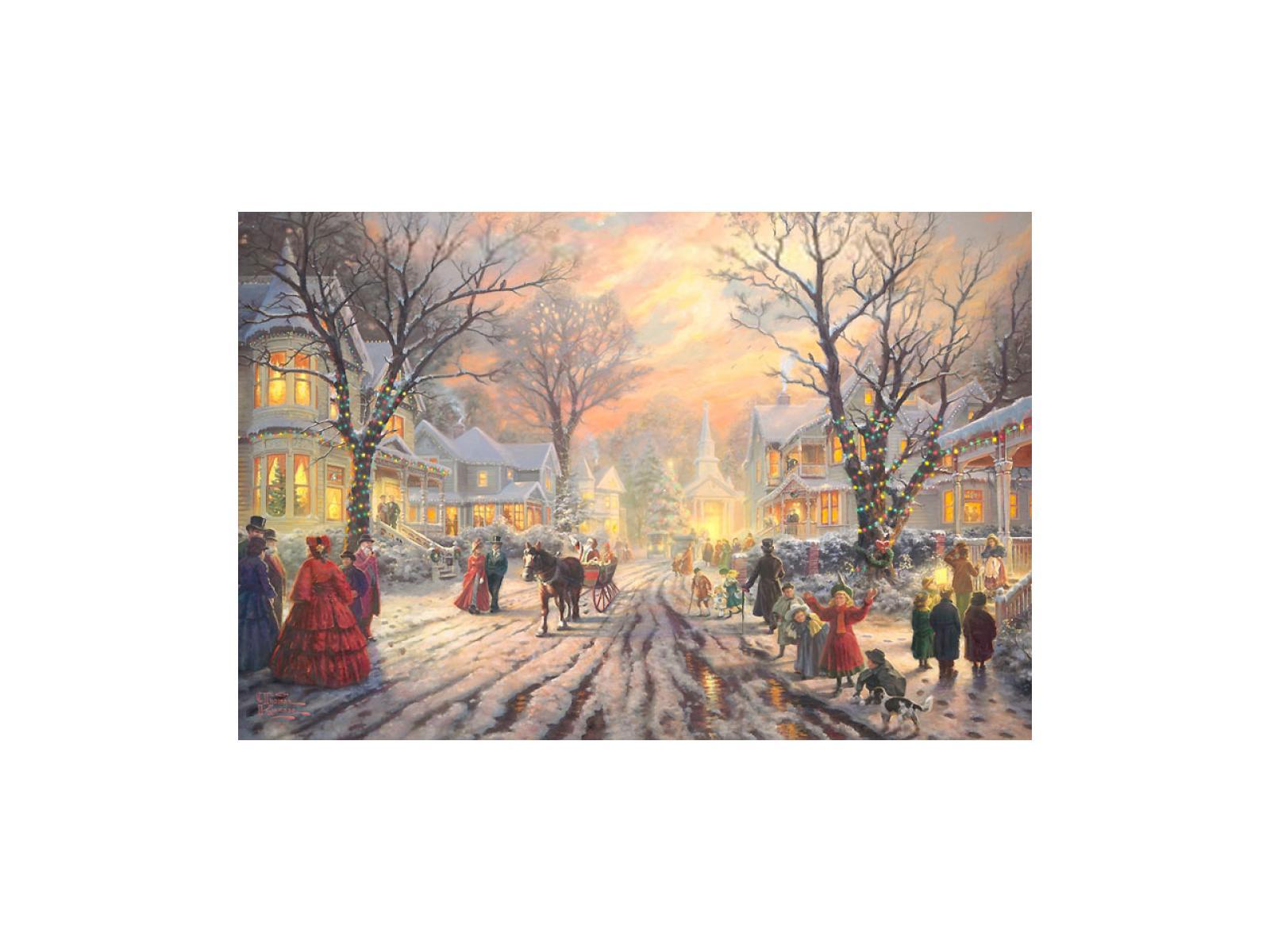 Thomas Kinkade Victorian Christmas Carol